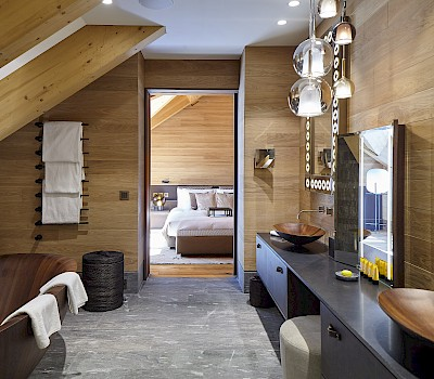 Gotthard Suite, The Chedi Andermatt
